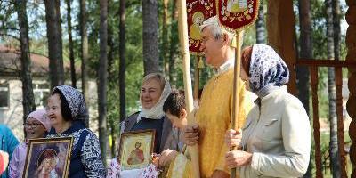 В храме Святого благоверного князя Александра Невского пгт.Сосновый Бор в день престольного…