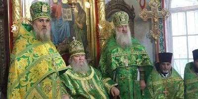 В день своего тезоименитства, епископ Великолукский и Невельский Сергий совершил…