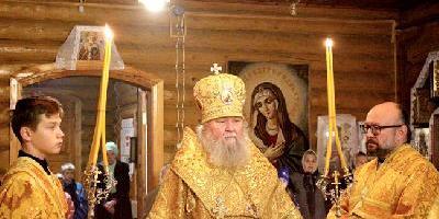 11 октября, в Неделю 18-ю по Пятидесятнице, епископ Великолукский и Невельский Сергий…