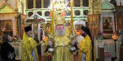 В неделю 19-ю по Пятидесятнице, епископ Великолукский и Невельский Сергий совершил…
