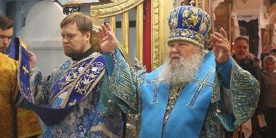 4 ноября, в день празднования Казанской иконы Божией Матери, епископ Великолукский…
