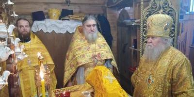 Епископ Великолукский и Невельский совершил Божественную литургию в храме Святого…