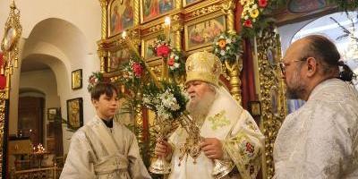 В Праздник Рождества Христова епископ Великолукский и Невельский Сергий возглавил…