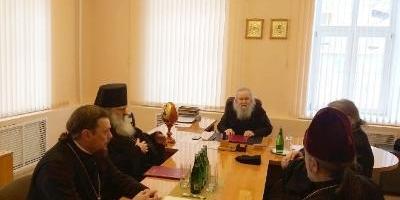 Состоялось первое в 2021 году заседание Епархиального Совета Великолукской епархии