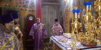 В среду второй седмицы Великого поста состоялась соборная служба духовенства Великолукского…