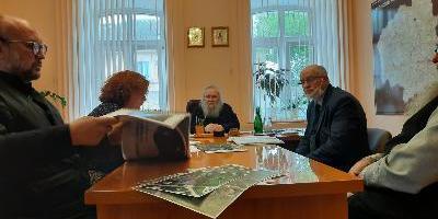Епископ Великолукский и Невельский Сергий провел рабочую встречу с представителями…