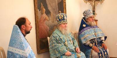 В День памяти Тихвинской иконы Божией Матери епископ Великолукский и Невельский совершил…